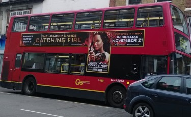 Catching Fire advert!!!