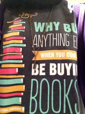 Why Buy Anything Else When You Could Be Buying Books?