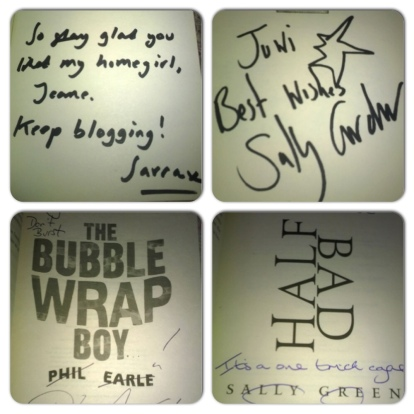 lovely signed books =)