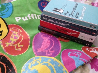 THANK YOU PENGUIN FOR ALL THE FABULOUS FREE BOOKS and this awesome puffin bag