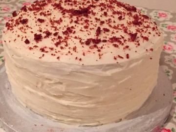 Triple Layered Red Velvet Cake