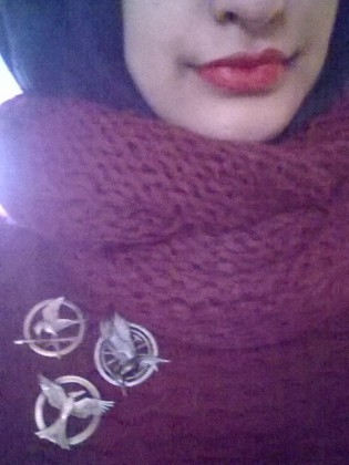 Mockingjay Pins 'and i got that red lip classic thing that you like' 😎
