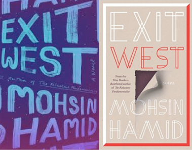 Exit West Book Covers