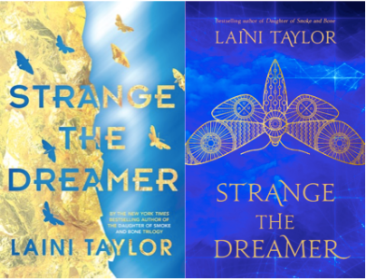 Strange The Dreamer Book Covers